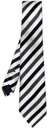 Zegna University stripe tie