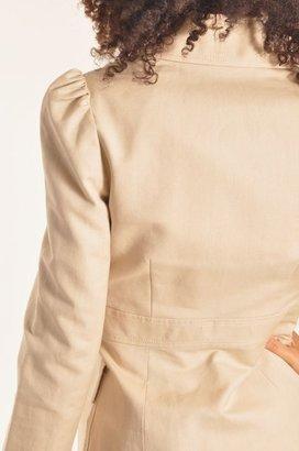 Plenty by Tracy Reese 4-Pocket Safari Jacket in Palamino