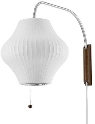 Modernica nelson bubble lamp wall sconce - pear