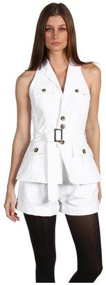 DSquared DSQUARED2 - Miss Safari Jumpsuit (White) - Apparel