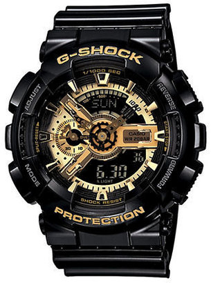 G-Shock BABY G Men's X-Large Black & Gold Combi Watch