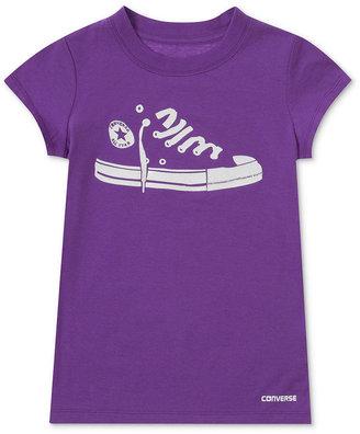 Converse T-Shirt, Girls Sneaker Graphic Tee