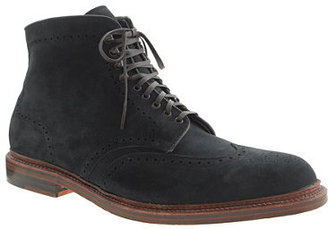 Alden for J.Crew wing tip boots