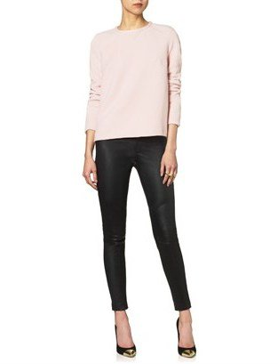 Jen Kao Pink Angora Sweatshirt