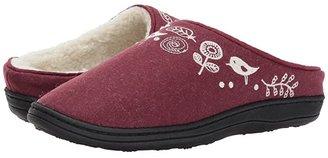 Acorn Talara Mule (Garnet) Women's Slippers
