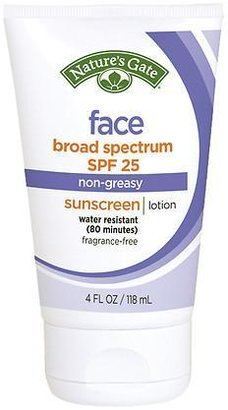 Nature's Gate Face Sunscreen SPF 25