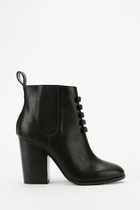 Urban Outfitters Grey City Bell Bow Ankle Boot