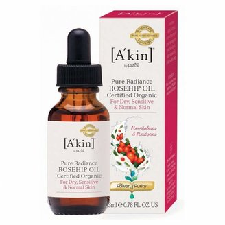 Akin A'kin Pure Radiance Certified Organic Rosehip Oil 23 mL