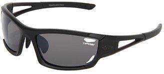 Tifosi Optics Dolomitetm 2.0 Interchangeable (Matte Black/Smoke/AC Red/Clear Lens) Sport Sunglasses