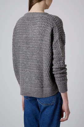 Topshop Knitted Stitch Cardigan