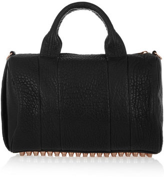 Alexander Wang The Rocco Textured-leather Tote - Black