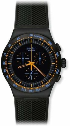 Swatch Men's YOB104 Stainless Steel Dial Chronograph Watch