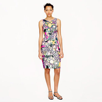 J.Crew Collection tropical sequin dress
