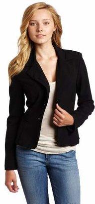 Amy Byer A. Byer Juniors Long Sleeve Button Welt Jacket