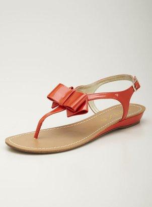 Unisa Flat Thong Sandal, Orange