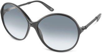 Bottega Veneta Round Frame Sunglasses