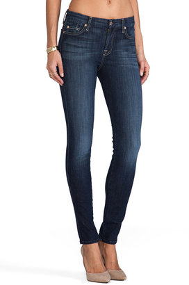 7 For All Mankind Slim Illusion Mid Rise Skinny