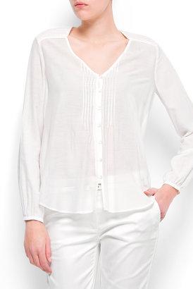 MANGO Loose-fit shirt