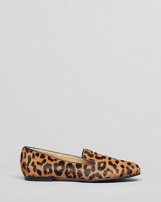 LK Bennett L.K.Bennett Smoking Flats - Lisa Leopard Print