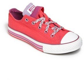 Converse Chuck Taylor® Double Tongue Sneaker (Toddler, Little Kid & Big Kid)