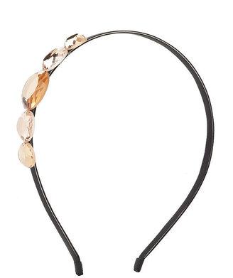 JUKO multi jewel headband, Peach 1 ea