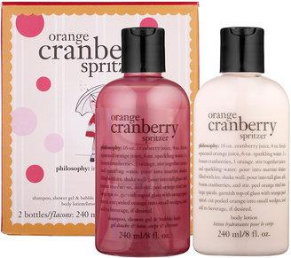 philosophy Orange Cranberry Spritzer Duo