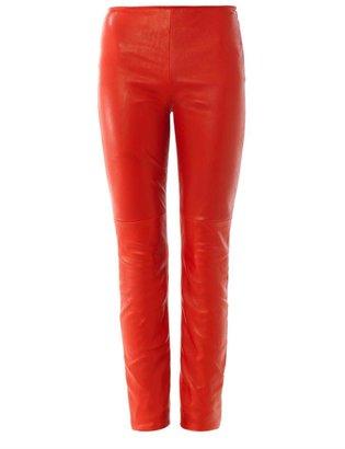 Maison Martin Margiela Leather front leggings