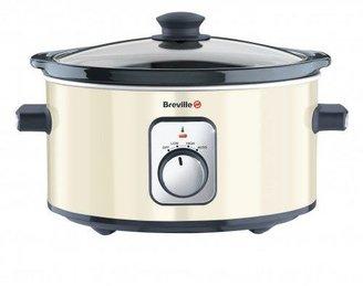 Breville 3.5L slow cooker cream VTP185