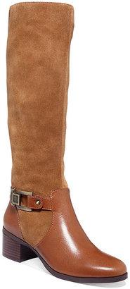 Anne Klein Joetta Wide Calf Riding Boots