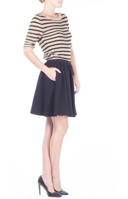 Sonia Rykiel Sonia by Black & Beige Stripe Sweater