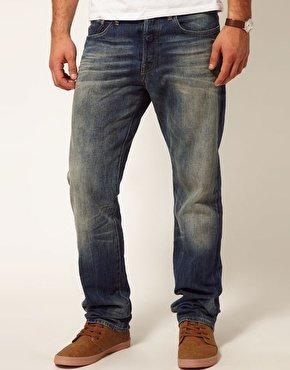 G Star G-Star Jeans 3301 Straight Fit Medium Aged - Blue