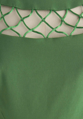Tatyana With Only a Wink Dress in Peridot