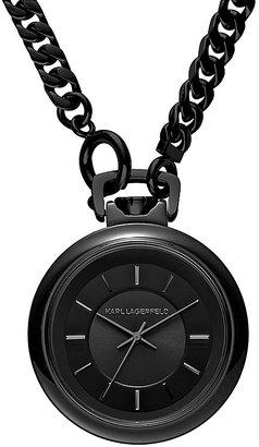 Karl Lagerfeld Chain Watch, 40mm