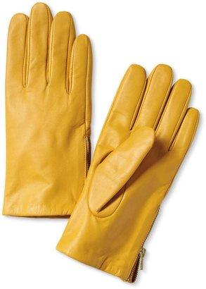 Banana Republic Leather Zip Glove
