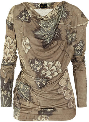 Vivienne Westwood Toga printed stretch-jersey top