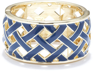 Anne Klein Blue Lattice Bracelet