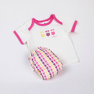 CoCalo Perfect Bum Newborn Starter Kit - Pink Floral (Small)