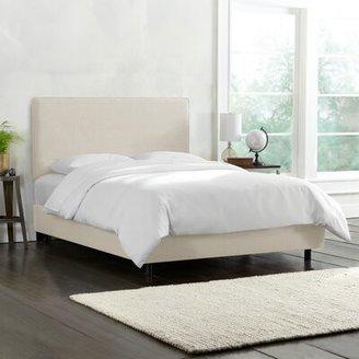 Wayfair Custom UpholsteryTM Catie Upholstered Standard Bed Wayfair Custom Upholstery Size: California King, Body Fabric: Duck Natural