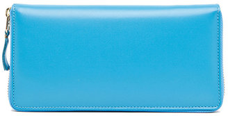 Comme des Garcons Classic Long Wallet in Blue | FWRD