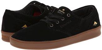 Emerica The Romero Laced (Black/Gum) Men's Skate Shoes