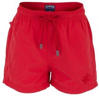 Vilebrequin Red Water Reactive Starfish Swim Shorts