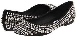 Steve Madden Kuddos (Black/Silver) - Footwear