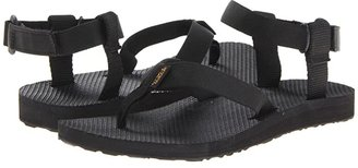 Teva Original Sandal (Black) Women's Sandals