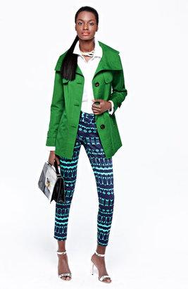 Ellen Tracy Stand Collar A-Line Jacket (Regular & Petite) (Nordstrom Exclusive)