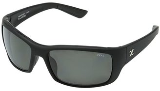 Zeal Optics Tracker (Tactical Black w/Polarized Dark Grey Lens) Sport Sunglasses