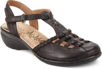 Easy Spirit Shoes, Pedrine Wedge Sandals