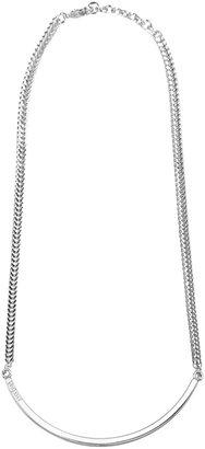 Vita Fede Half Moon Necklace Silver