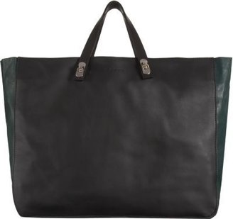 Marni Turn Lock Detailed EastWest Tote