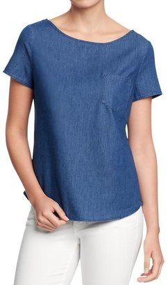 Old Navy Women's Chambray Tops
