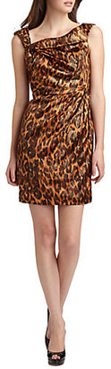 Kay Unger Silk Dress